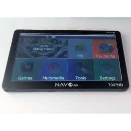 "GPS 7"" Navo 7007HD TRUCK 800Mhz"